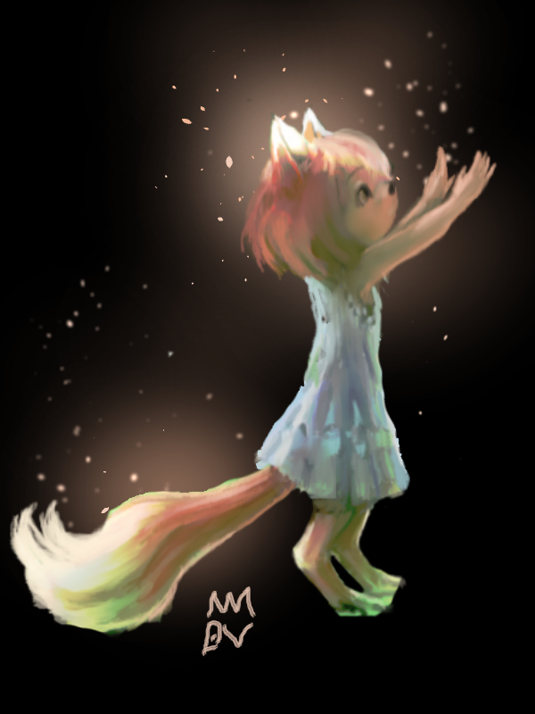 Anthro dragon forest 1 child (just her).png